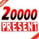 20000 present