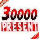 30000 present