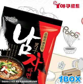 """Paldo"" male frame 40 pieces ■ man frame ■ Korea noodles ■ Korea food ■ imported food ■ imported ingredients ■ Korea food ■ Korea cuisine ■ Korea souvenir ■ emergency food ■ for safety ■ disaster ■ noodles ■ instant ramen ■ spicy ramen ■ ramen ■ low-pric"