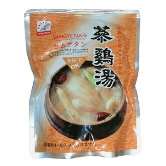 Fine samgyetang 'samgyetang' 800 g ■ Korea food ■ Korea Korea food / Korea food materials and soup / soup / chicken / water, samgyetang and ttukbaegi / ファインサムゲタン / improvised food / Retort Pouch food and instant food and easy dishes Tan exposure quality