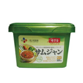 See haechandle ssamjang sanchu miso 500 g ■ Korea food ■ Korea cuisine / Korea food material / seasoning / Korea source and Korea miso and samgyeopsal miso / BBQ miso /SmaStation Mont.