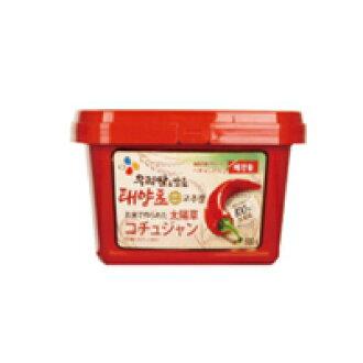 "500 g of ""ヘチャンドル"" コチュジャン ■ Korea food ■ Nippon Television ZIP/ sushi / Korean food / Korea food / seasoning / Korea source / red pepper / コチュジャン / spice / capsaicin / sharp tastes"