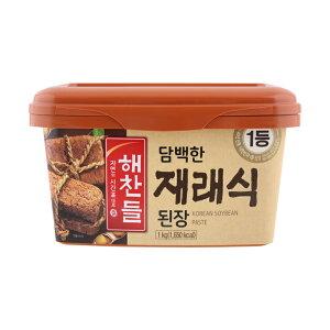 ヘチャンドル味噌 1kg■韓国食品■韓国料理/韓国食材/調味料/韓国ソース/韓国味噌/在来式味噌/味噌汁【YDKG-s】