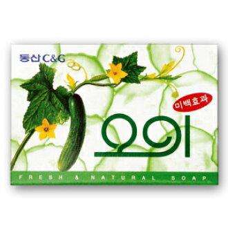 黄瓜肥皂 ■ 韩国小玩意 ■ 肥皂和韩国肥皂、 香皂、 肥皂 / 韩国