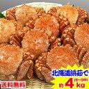 【11/10まで!1000円OFFクーポン】北海道浜茹で毛蟹姿 約4kg(8〜9杯)