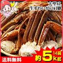 大型4L生ずわい蟹肩脚 14肩(約5kg)【送料無料】[生ズワイガニ|生ずわいがに|生ずわい蟹|肩脚のみ|ずわい蟹|ズ…