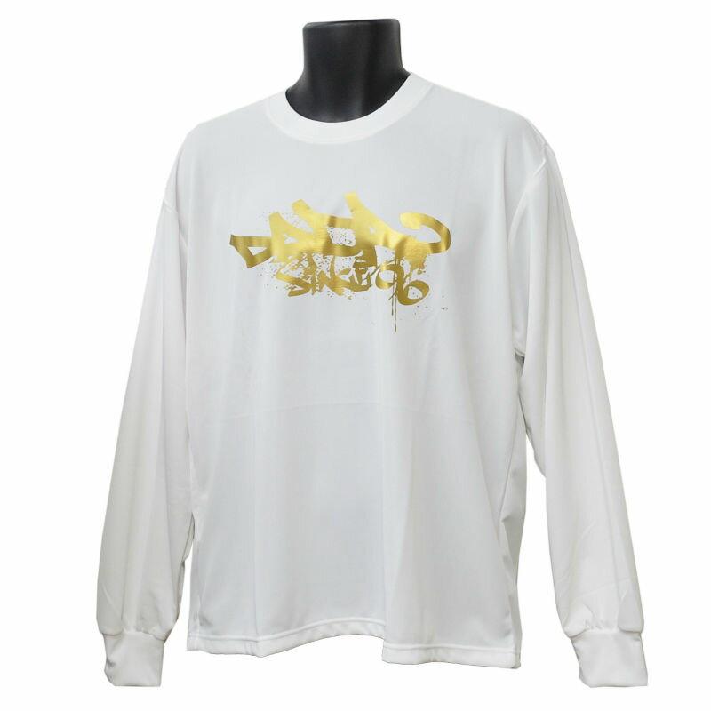■メール便選択で送料無料■ DADA バスケット ロングTシャツ CITY BALL LONG TEE DA16-003 ホワイト ダダ ミニバス ダンス