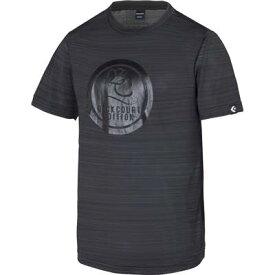 《メール便無料》 コンバース Tシャツ バッグコートエディション 裾ラウンド CBE281322 ブラック ミニバス バスケット CONVERSE メール便選択で送料無料