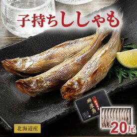 子持ちシシャモ メス 20尾入り(大サイズ) 北海道鵡川・広尾・厚賀・釧路産ししゃもです。脂のりも良く、ご飯のおかずに最適な干物柳葉魚、干し魚。ぷちぷち卵の食感も味わえます。北海道グルメ食品 魚介類・シーフード シシャモ 子持ちししゃも