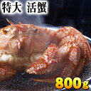 (特大サイズ) 北海道産 活毛蟹 800g前後 毛ガニの美味しさを味わうなら、未冷凍の活け活蟹。茹でたて毛がにの醍醐味でもあるカニ味噌。活毛ガニならかにのお刺身...