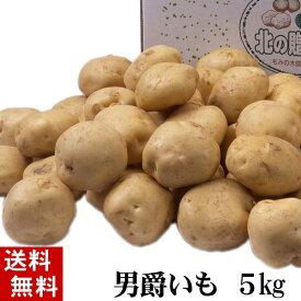 (送料無料) じゃがいも 男爵いも 5kg(芋・新じゃが) 北海道産のジャガイモ、男爵芋です。肉じゃが、じゃがバター、コロッケの調理に。北海道グルメ食品 野菜・きのこ ジャガイモ 男爵芋