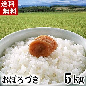 (送料無料)令和2年度 新米 北海道産米 おぼろづき 5kg 白米、精米 もっちりした食感のお米。柔らかい食感と強い粘りが特徴のおぼろ月は、新潟産コシヒカリに匹敵する評価を受けています