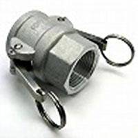 カムロック(アルミニウム製)/メネジカプラー(Dタイプ)メス×Rcメネジ/D-Rc2(50A)