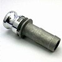 カムロック(アルミニウム製)/ホースシャンクアダプター(Eタイプ)オス×ホース口/E-32