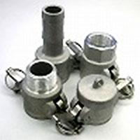 カムロック(アルミニウム製)/ホースシャンクカプラー(Cタイプ)メス×ホース口/C-50