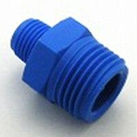 樹脂製継手六角ニップル(二方Rオネジ)異径サイズNRHN-0604|R3/8×R1/4(19)(mm)