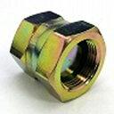 鉄製高圧継手盲栓(油止め)キャップ 105タイプ平行ガスメネジ(でっぱりシート)105-08 | G1/2(mm)