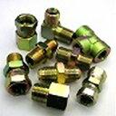 鉄製高圧継手 AU07タイプ並行ユニファイオネジ(根元Oリング付)×RcガスメネジAU07-7U04 | G7/16U×Rc1/4(mm)