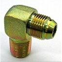 鉄製ねじ込み継手33タイプ 90°エルボ平行ガスオネジ(でっぱりシート)×Rオネジ 33-0606   G3/8×R3/8mm