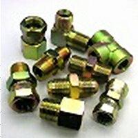 鉄製高圧継手17タイプ並行ガスオネジ(でっぱりシート)×Rcメネジ同径サイズ17-0606|G3/8×Rc3/8(mm)