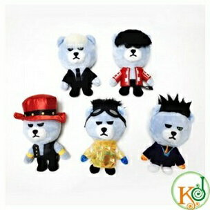 【K-POP・韓流】BIGBANGXKRUNK[BAEBAE]VER.ベアキーチェーン、バックチャーム(ぬいぐるみ)/ビッグバン(1600120201109)