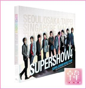 【K-POP・韓流】 Super Junior/写真集/ワールドツアーSUPERSHOW 4 Concertフォトブック(10005767)