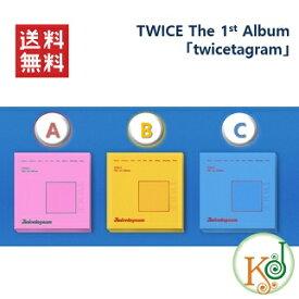 【おまけ付き】TWICE The 1st Album twicetagram バージョンランダム(A、B、C.ver)/ おまけ:生写真+トレカ(8809269508461-1)