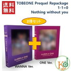 【K-POP・韓流】【K-POP・韓流】WANNAONETOBEONEPrequelRepackage2種セット(WANNA+ONEver.)[1-1=0(Nothingwithoutyou)]/ワナワン(8809534468186-2)(8809534468186-2)