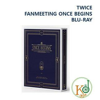 【おまけ付き】TWICE BLU-RAY 「FANMEETING ONCE BEGINS」トゥワイス/おまけ選択(8809375120571-1)