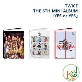 【おまけ付き】TWICE CD アルバム THE 6TH MINI ALBUM「YES or YES」バージョンランダム トゥワイス / おまけ:生写真+トレカ(8809440338467-1)