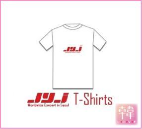 【K-POP・韓流】 J.Y.J/Tーシャツ/2010 SEOUL CONCERT GOODS* 即日発送(10002391)