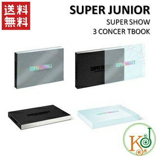 【K-POP・韓流】 SUPERJUNIOR /SUPER SHOW 3CONCERTBOOK (10003270)