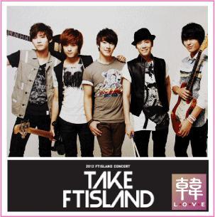 【K-POP・韓流】 TAKE FT ISLAND / ハガキA-SET(6枚入り)(10006701)
