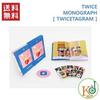 【K-POP・韓流】 TWICE TWICETAGRAM MONOGRAPH PHOTOBOOK(コード:3)/ トゥワイス [2/28発売](8809585694060-1)