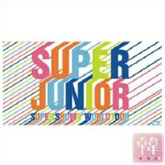 【K-POP・韓流】 【K-POP・韓流】 SUPER JUNIOR/バスタオル/2012年05月 SUPER SHOW4 IN SEOUL ENCORE CONCERT/スーパージュニア(10005660)(10005660)