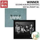 【K-POP・韓流】WINNER/SECONDALBUM[EVERYD4Y]/2種DAYVER+NIGHTVER/選択(8809269508935-1)