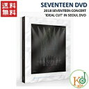 2018 SEVENTEEN CONCERT 'IDEAL CUT' IN SEOUL DVD (コード:3) セブンティーン seventeen/おまけ:生写真(88092695…