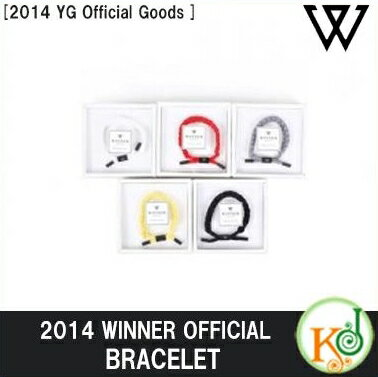 【K-POPCD・送料無料・クリアファイル・予約】 2014 WINNER BRACELET [2014 YG Official Goods](0801004229806)