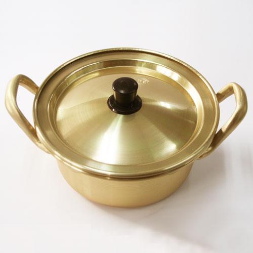 ちょうど一人前分鍋◆韓国 ラーメン鍋 アルミ製 14cm