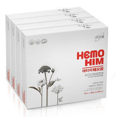 atom美(アトミ) HEMOHIM (ヘモヒム) 20ml×60包×4 BOX