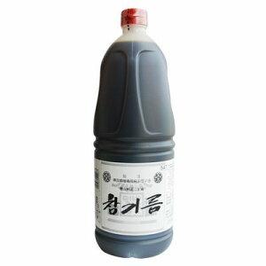 チャンギルム(徳山純正ごま油)1650gペットボトル