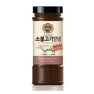 白雪 すり梨入焼肉のタレ(牛ブルゴキ) 500g瓶