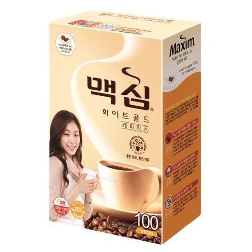 マキシム ホワイトゴールドコーヒーミックス (11.8g×100包) キム・ヨナ