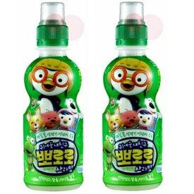 韓国ヤクルト パルド ポロロジュース りんご味235ml ペット ×2本