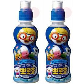韓国ヤクルト パルド ポロロジュース ミルク味235ml ペット ×2本