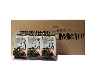 韓国のり ナヌム熟成のり 4.5g(約8枚)×3パック×24個
