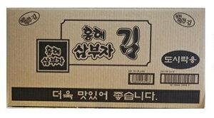 サンブジャ韓国のり (5g×3入り)×24パック (1ケース)/三父子/韓国/海苔/BOX/弁当/サンブサ/三夫子/業務用/箱