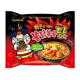 激辛 ブルダック炒め湯麺/スープ付き鶏炒め麺