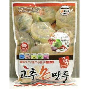 ヂョンマル韓国手作り唐辛子餃子やゃ辛い味420g/966kcal