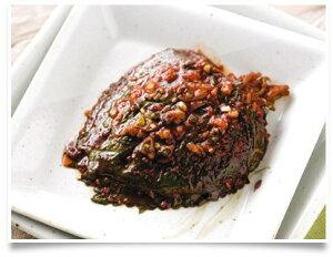 手造り えごま葉のヤンニン漬 300g袋/キムチ/ねぎキムチ/大根キムチ/カクテキ/